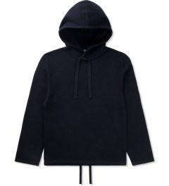 A.P.C. Dark Navy Sweat a Capuche Double Face Sweater Picutre