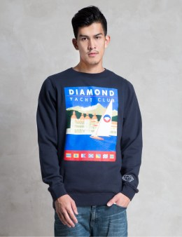 Diamond Supply Co. Navy Destination Crewneck  Picture