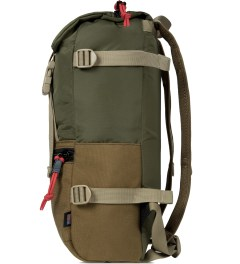 TOPO DESIGNS Coyote/Olive Rover Backpack Model Picture