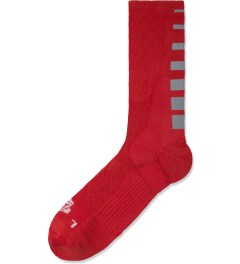 ICNY Red Half Calf Gradient Socks Picture