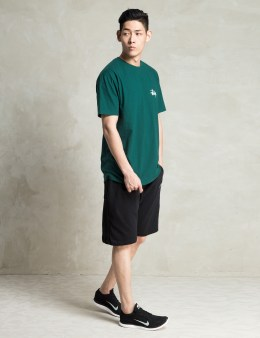 Stussy Teal Basic Logo T-Shirt Picture