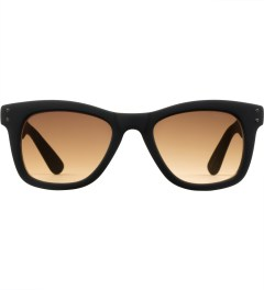 KOMONO Black Rubber Allen Sunglasses Picture