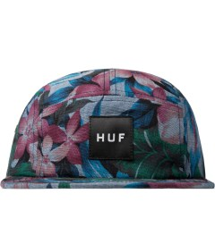 HUF Navy Hawaiian Oxford Volley Cap Picutre