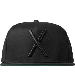 10.Deep Black Living Larger Snapback Cap Picutre