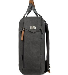 QWSTION Washed Grey Daypack Model Picture