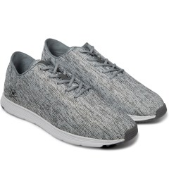 Ransom Ash Grey/White Field Lite Shoes Model Picutre