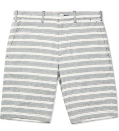 CASH CA Grey Cotton Jersey Short Picutre