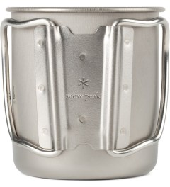 snow peak Titanium 450ml Single Wall Cup Model Picture