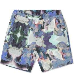 Uniforms for the Dedicated Splash Paint Yum Yum Garden Shorts Picture