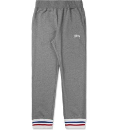 Stussy Heather Grey Cuff Sweatpants Picture
