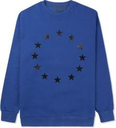 Études Studio Blue Stars Crewneck Sweater Picutre