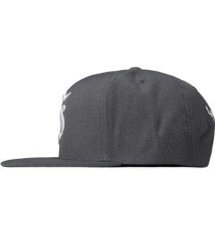 Stussy Charcoal Gothic S Cap Model Picture