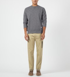 Penfield Tan Lawler Bonded Pocket Pants Model Picture