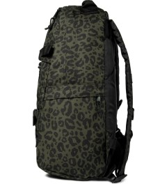 Carhartt WORK IN PROGRESS Cypress Panther Print Kickflip Backpack Model Picutre