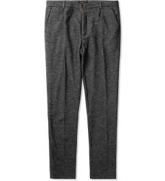 Commune De Paris Marl Grey Fleece GN4-03 Pants Picutre