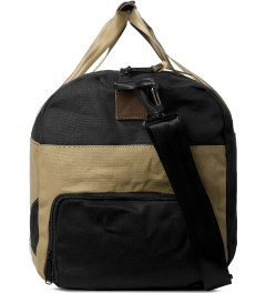 Herschel Supply Co. Black/Sand Lonsdale Duffle Bag Model Picture