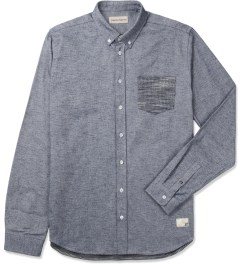 Libertine-Libertine Navy Hunter L/S Shirt Picutre