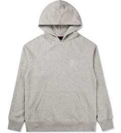 Stussy Heather Grey Lux Fleece Hoodie Picture