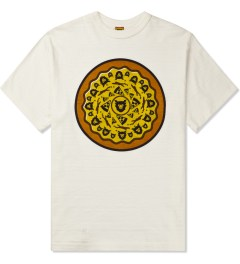 Human Made White Pizza T-Shirt Picture