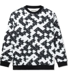 Henrik Vibskov Cloud Weaving Print Muddi Roundneck Sweater Picutre