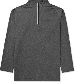 Undefeated Heather Grey Technical II Half Zip Jacket Picture