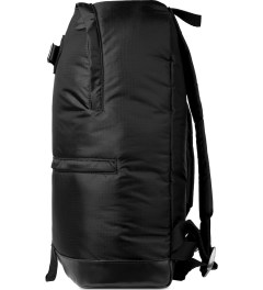 A.P.C. Black Steven Backpack Model Picture