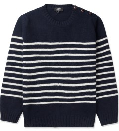 A.P.C. Dark Navy Marin Pullover Sweater Picture