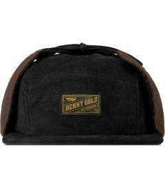 Benny Gold Black Fargo Dog Eared 5 Panel Cap Picture