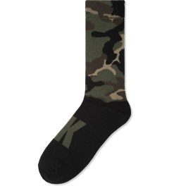 MAGIC STICK Camo Woodland Socks Picture