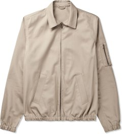 A.P.C. Taupe Blouson Scooter Jacket Picture