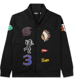 Undefeated Black Senior V Fleece Cardy Cardigan Picutre