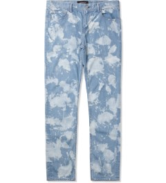 PHENOMENON Light Indigo Bleached Skinny Jeans Picutre
