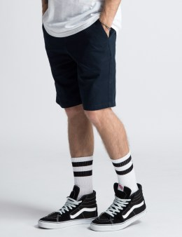 Stussy Navy Twill Gramps Shorts Picture