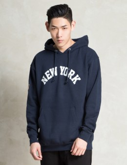 Stussy Navy NY IST Hoodie Picture