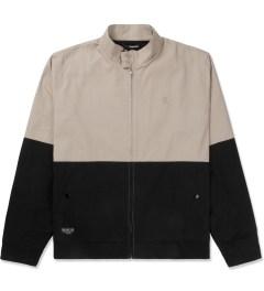 The Quiet Life Tan/Black Harrington Coach Jacket Picutre