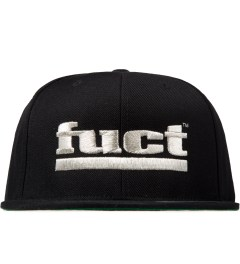 FUCT Silver Bar Logo Snapback Cap Picture