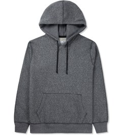 Reigning Champ Charcoal RC-3261 Heavyweight Terry L/S Pullover Hoodie W/ Side Zip Picture