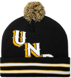 Undefeated Black UND Pom Beanie Picture