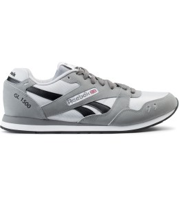 Reebok Grey/White GL 1500 Athletic Sneakers Picture