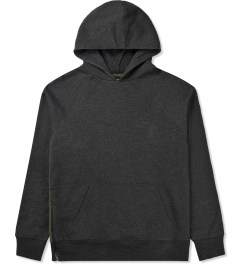 Stussy Black Heather Lux Fleece Hoodie Picutre