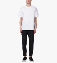 3.1 Phillip Lim Midnight Combo Front Panel Slim Lounge Pants Model Picutre