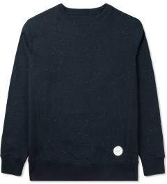 SATURDAYS Surf NYC Black Bowery Crewneck Sweater Picutre