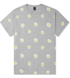 Mark McNairy Heather Grey Daisy Print T-Shirt Picture
