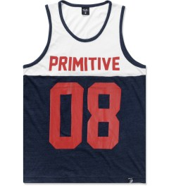 Primitive Navy Heather Division Tank Top Picture