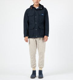 Penfield Navy Kasson Mountain Parka Model Picture