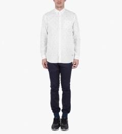 Libertine-Libertine White/Black Hunter Shirt Model Picture