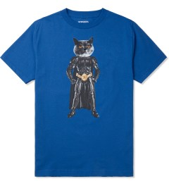 Odd Future Royal Blue Mellowhype Batcat T-Shirt Picture