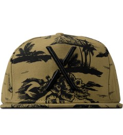 10.Deep Khaki Larger Living Snapback Cap Picutre