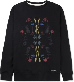 SATURDAYS Surf NYC Black Bowery Garden Sweater Picture