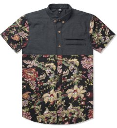 Thing Thing Black/Kung Floral Earl Shirt Picture